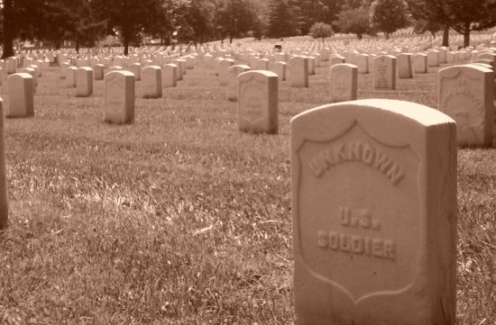 Unknown soldiers in Leavenworth